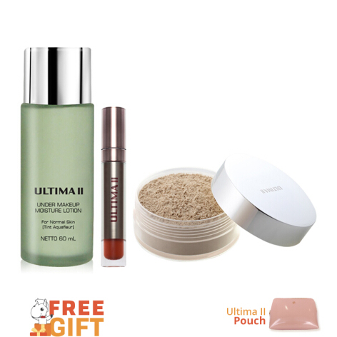 ULTIMA II Beauty Essentials Package 04 - 3pcs + Free Gift Pouch